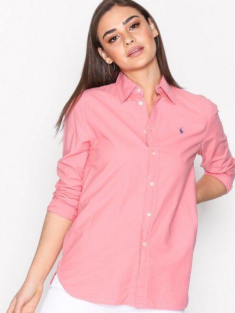 Billede af Polo Ralph Lauren Long Sleeve Relaxed Shirt Skjorter Bright Pink