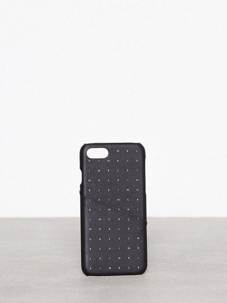 Billede af Calvin Klein Calvin Grid iPhone Case Mobilcover Sort