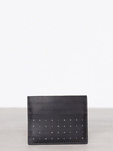 Billede af Calvin Klein Calvin Grid Cardholder Kortholder Sort