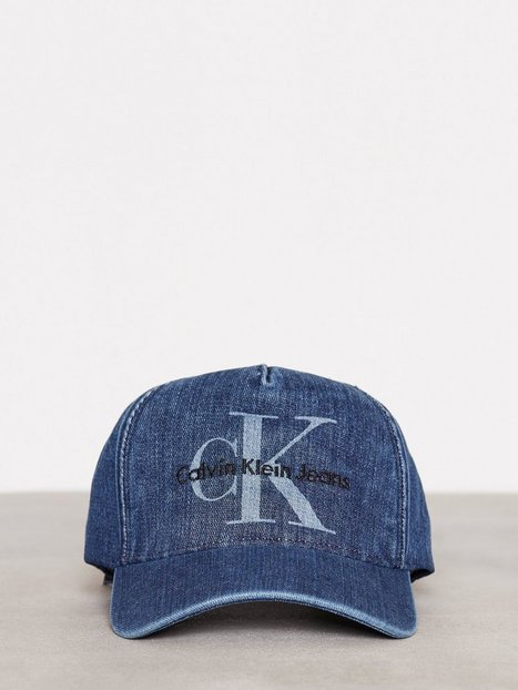 Calvin Klein Re-Issue Denim Baseball Cap Kepsar Blå thumbnail