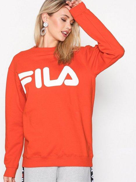 Billede af Fila Classic logo sweat Sweatshirt Pumpkin