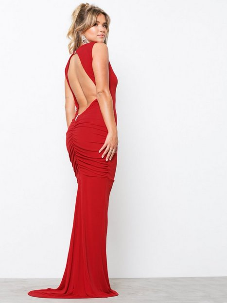 Billede af Honor Gold Bella Sleeveless Maxi Dress Maxikjoler Red