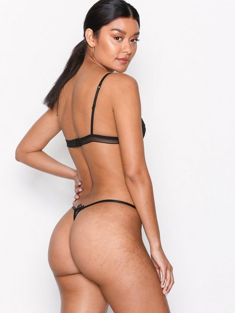 Lovely Lace Flower Thong