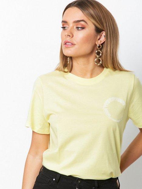 Billede af Gestuz Bowi oz top T-shirt Yellow