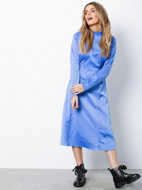 Billede af Gestuz Ihara Dress Langærmede kjoler Blå