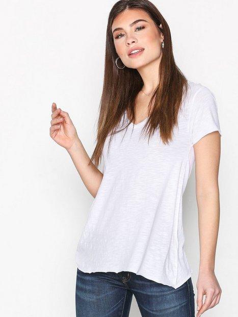 Billede af American Vintage Tee Shirt MC Col T-shirt Blanc