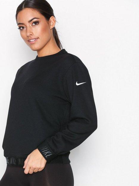 Billede af Nike NK Dry Top LS Crewneck Trøjer Sort