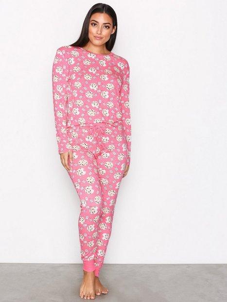 Billede af Chelsea Peers Cookie PJ Set Pyjamas & Hyggetøj Rosa/Lyserød