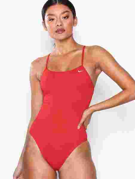 3da37db4fee Cut - Out Onep Poly Solid - Nike - Red - Swimsuits - Sports Fashion ...