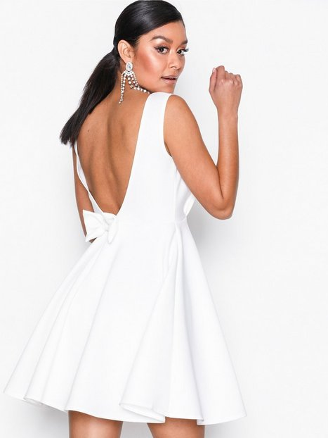 Bow Low Back Dress