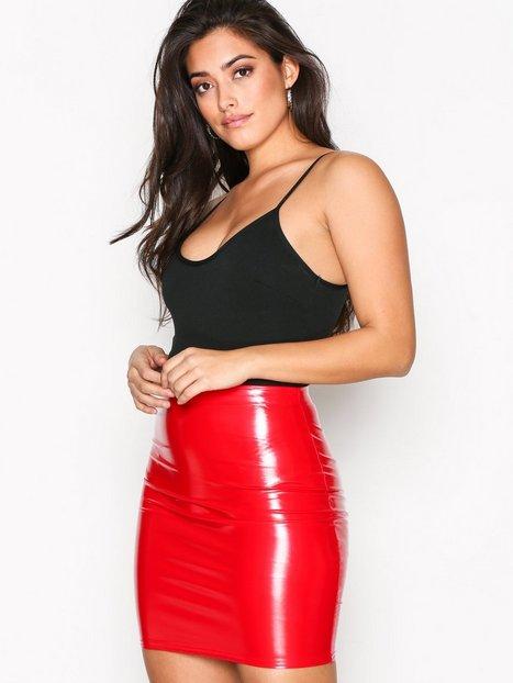 Patent Short Skirt