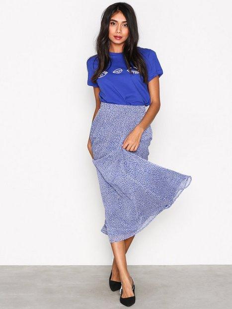 Billede af Gestuz Clover long skirt Midi nederdele Blue
