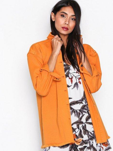 Billede af Gestuz Ibea jacket Denimjakker Orange