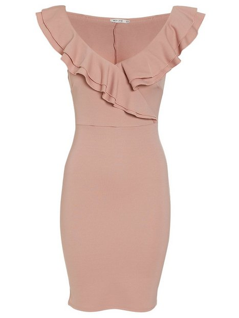 Frill Neck Dress