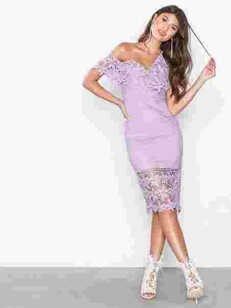 45dba18e6c6f Botanical Wonder Off Shoulder Midi Dress - Love Triangle - Purple ...