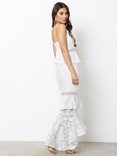 Falling Tears Maxi Dress Love Triangle White Party Dresses