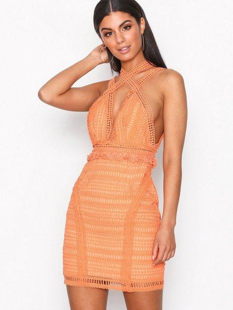 Billede af Love Triangle Cross Town Lover Mini Dress Kropsnære kjoler Mango