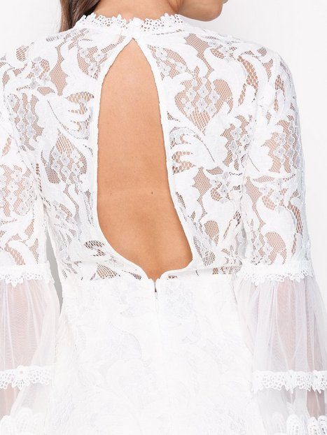 Victoriana L/S Lace Playsuit