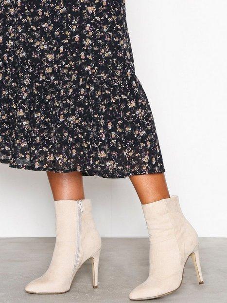 Billede af Bianco Classic Stiletto Boot High Heel Sand