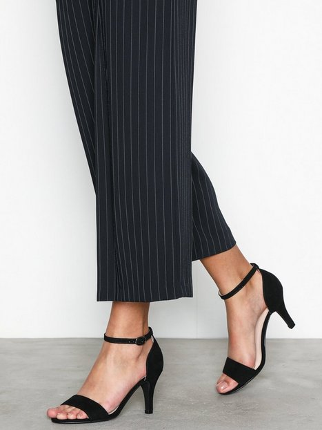 Billede af Bianco Low Basic Sandal High Heel Sort
