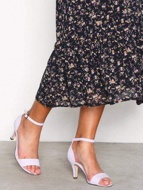 Billede af Bianco Low Basic Sandal Low Heel Lilac
