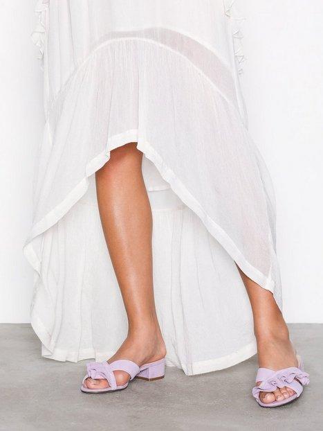 Billede af Bianco Slip In Sandal Tøfler Lilac