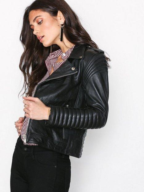 Billede af Deadwood Marley Jacket Læderjakker Black