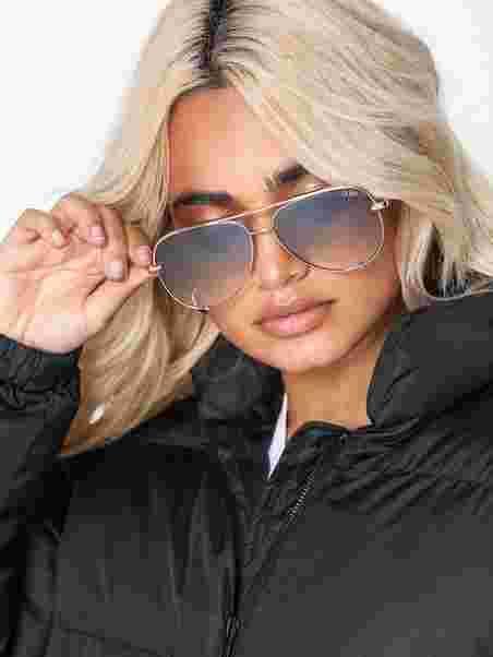 f32083b1005f High Key Mini - Quay Australia - Green - Sunglasses - Accessories ...