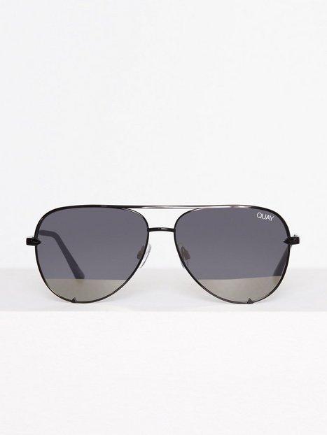 Billede af Quay Australia High Key Mini Solbriller Sort/Sølv