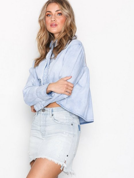 Billede af One Teaspoon Brando 2020 Mini skirt Mini nederdele Denim