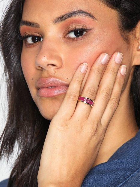 Billede af Marc Jacobs Band Ring Ring Magenta
