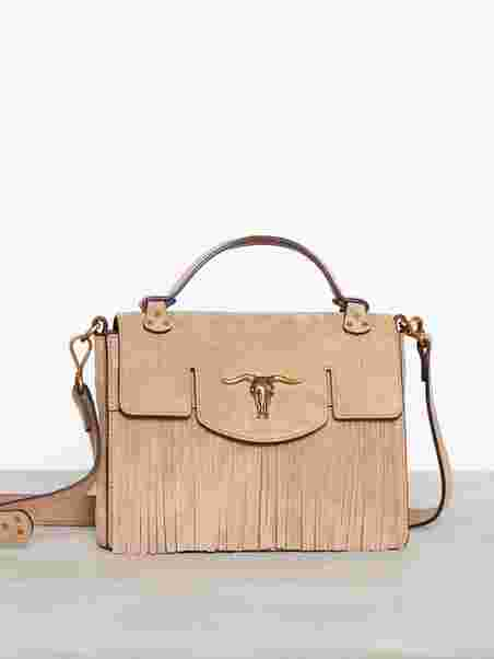 91e39fd3ff Schooly Top Handle Small - Polo Ralph Lauren - Bisque - Bags ...