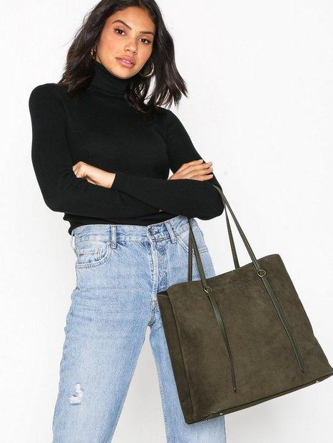 Polo Ralph Lauren Lennox Tote Large Håndtaske Olive