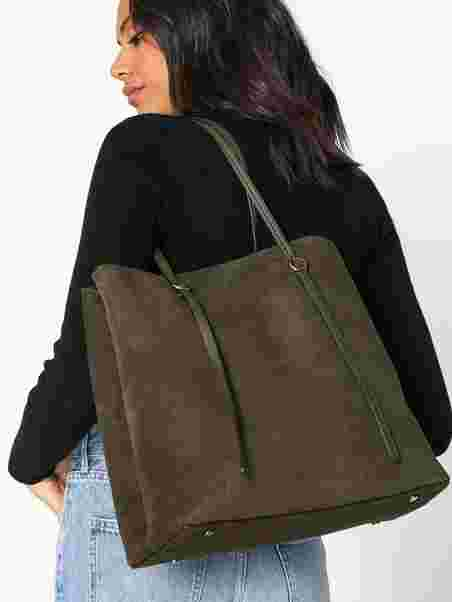 50b2289a53 Lennox Tote Large - Polo Ralph Lauren - Olive - Bags - Accessories ...