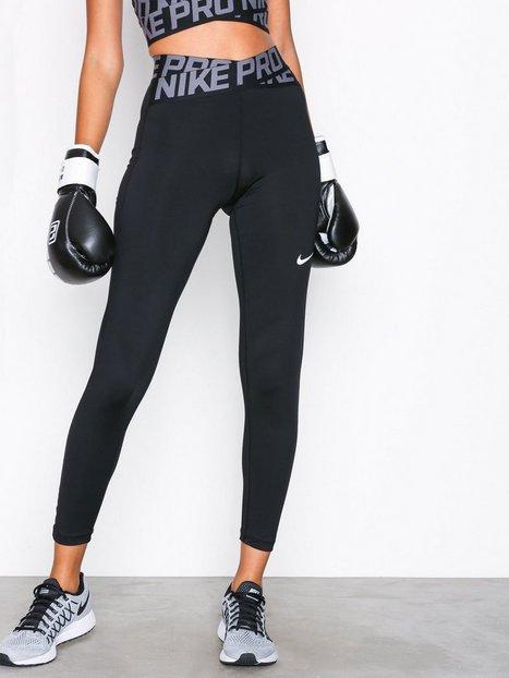 Billede af Nike W Np Intertwist Tght Træningstights Sort/Hvid