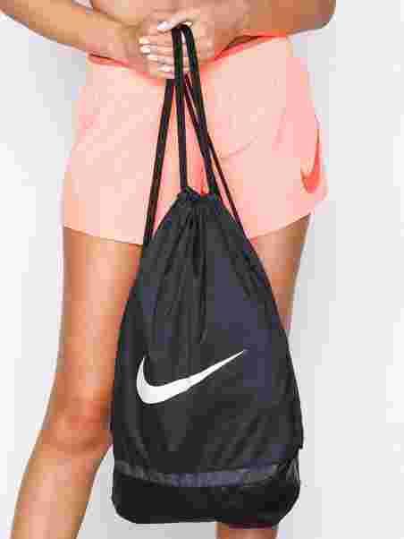 4c973229cbe46 Brasilia Training Gymsack - Nike - Black White - Accessories (Sport ...