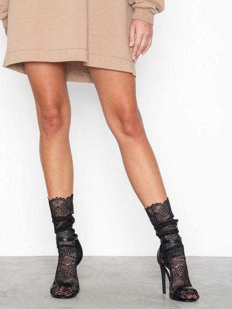Billede af NLY Lingerie Express yourself socks Lange strømper