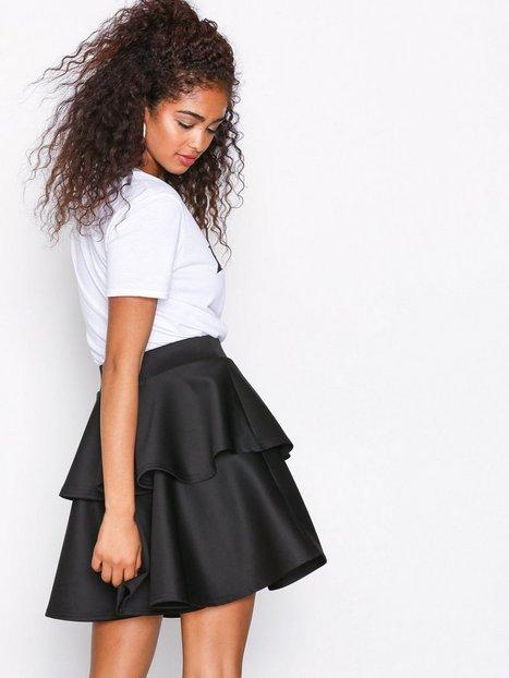 Short Flirty Frill Skirt