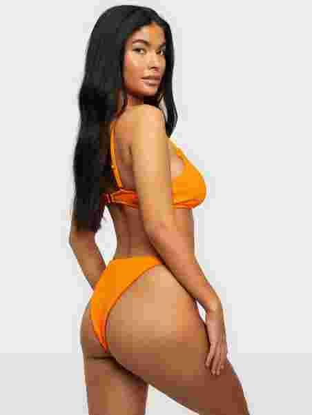 50e80ece Thin Strap Bikini Panty - Nly Beach - Orange - Bikinier - Badetøy ...