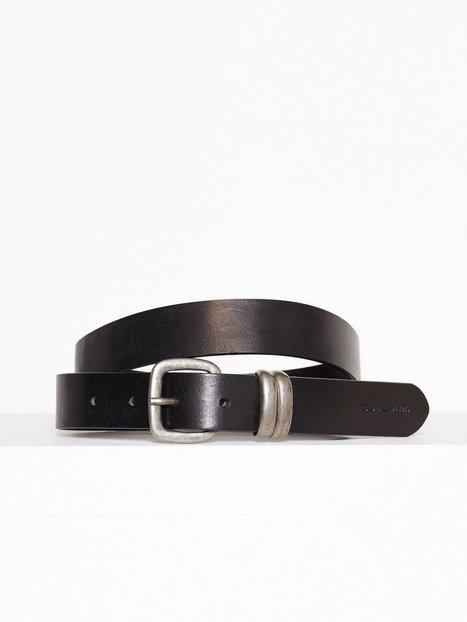 Billede af Calvin Klein J 3cm Metal Loops Belt Bælter & Bindebånd Sort