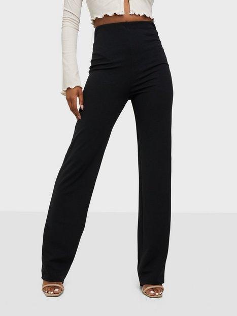Straight Crepe Pant
