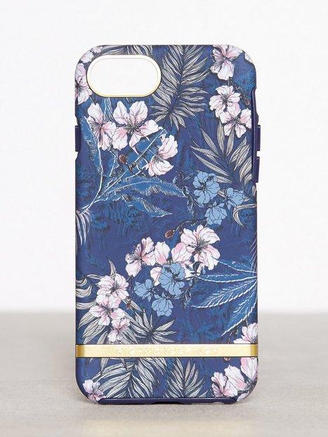 Billede af Richmond & Finch iPhone 6/6s/7/8 Mobilcover Blå mønstret