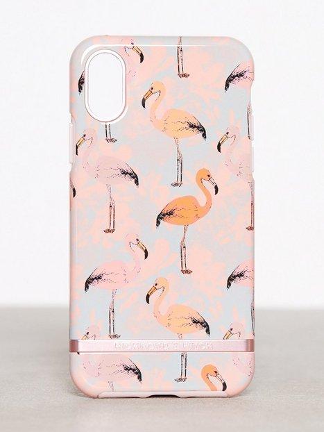 Billede af Richmond & Finch iPhone X Mobilcover Flamingo