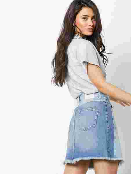5ea08182 Janni Denim Skirt - Norr - Light Blue - Skirts - Clothing - Women ...