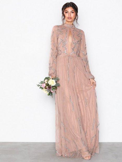 Billede af Maya Embellished Maxi Dress Maxikjoler Mauve