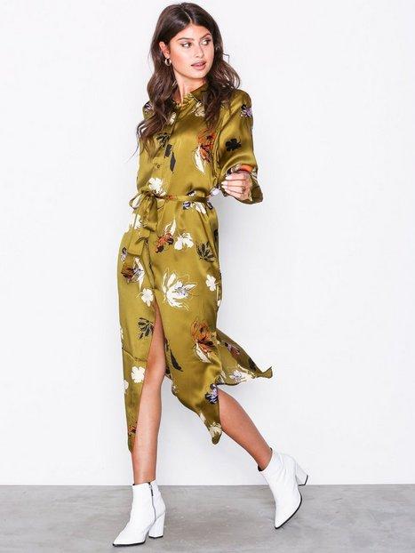 Billede af Gestuz Aya Long Shirt Loose fit dresses Guld