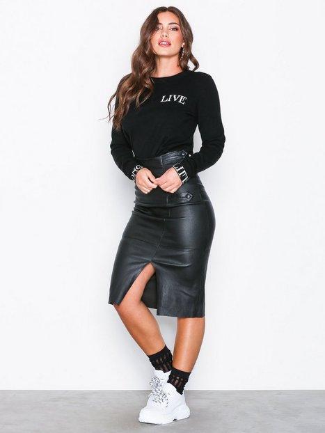 Billede af Gestuz Avilla Skirt Midi nederdele Sort