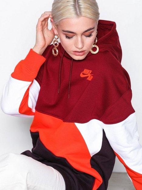 Billede af Nike NSW Hoodie QS Hættetrøjer Rød