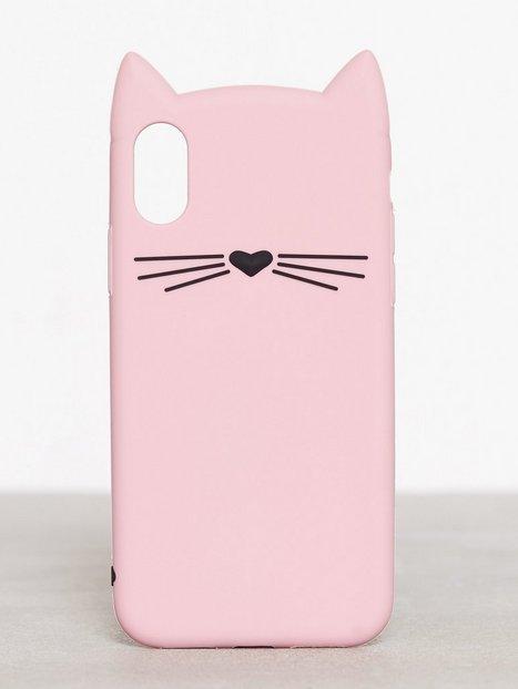Billede af Kate Spade New York Silicone Cat - X Mobilcover Rosa mønstret