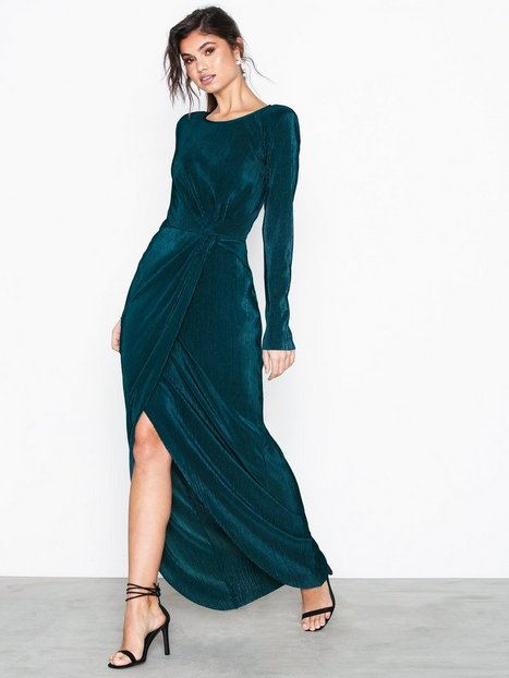 Padded Pleated Gown